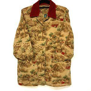 Barn Jacket Cotton Twill Corduroy Trim AA1-1037PM